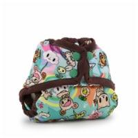Kanga Care Rumparooz Newborn Reusable Cloth Diaper Cover Snap | tokiSweet - Mint Chip - Newborn