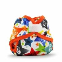 Kanga Care Rumparooz Newborn Reusable Cloth Diaper Cover Aplix Dragons Fly - Poppy 4-15lbs - Newborn