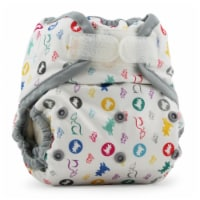 Kanga Care Rumparooz One Size Reusable Cloth Diaper Cover Aplix Roozy 6-35 lbs