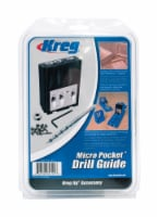 Kreg  2/7 in.  x 9 in. L Plastic  Step Drill Bit  1 pc. - Case Of: 1; Each Pack Qty: 1; - Count of: 1