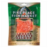 Pike Pier Fisherman Smoked Sockeye Salmon - 4 oz