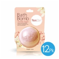 Grand Fusion Bath Bomb Jumbo Size 4.2 oz - Vanilla Suger 12 Pack - Each