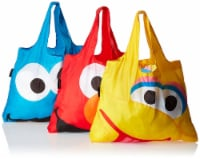Envirosax Sesame Street Pouch Reusable Shopping Bags, Big Bird - 3 Pieces