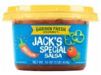 Garden Fresh Gourmet Jack's Special Medium Salsa