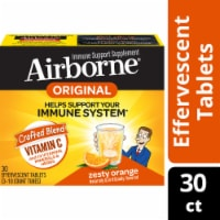 Airborne Zesty Orange Flavor Effervescent Tablets