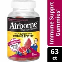 Airborne® Blueberry Pomegranate Immune Support Gummies - 63 ct