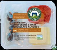 Niman Ranch Pepperoni Provolone & Dark Chocolate Almonds - 2.75 oz