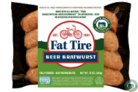 Niman Ranch Fat Tire Beer Bratwurst