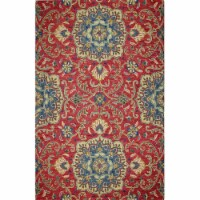 Bashian R131-COR-76X96-AL116 7 ft. 6 in. x 9 ft. 6 in. Valencia Collection Transitional 100 P - 1