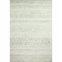Bashian R131-GN-4X6-AL118 3 ft. 6 in. x 5 ft. 6 in. Valencia Collection Transitional 100 Perc