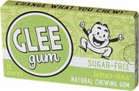 Glee Gum  Xylitol Sweetened Natural Gum   Lemon Lime