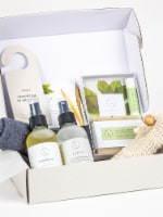 Bath & Body Men Skincare Gift Box, Special soothing and massaging Set - 1