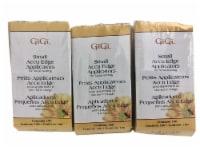 GiGi Small Accu Edge Applicators for Facial Waxing 100 CT Pack of 3 - 1