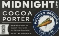 Pelican Brewing Company Midnight Malt Cocoa Porter Beer - 6 cans / 12 fl oz