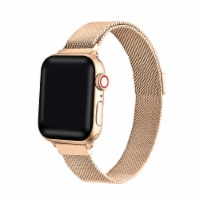 Infinity Skinny Rose Gold Band for Apple Watch 1,2,3,4,5,6 & SE - Size 42mm/44mm - 42mm/44mm