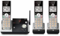 AT&T 3-Handset Cordless Answering System with Caller ID/Call Waiting - Black