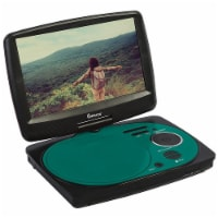 Impecca 9 Inch Swivel Screen Portable Dvd Player Teal