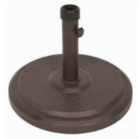 SimplyShade Classic Polycrete Base Umbrella Stand - 19.3 in. Dia