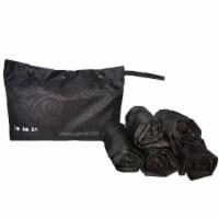 Envirosax Dusky Damask Pouch, Set of 5 Reusable Shopping Bags - 5 Pieces
