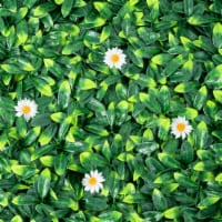 Gymax 12PCS 20x20inch Artificial Daisy Hedge Plant Privacy Fence Hedge Panels - 1 unit