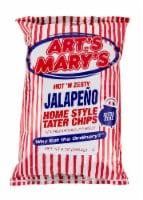 Art's & Mary's Hot N Zesty Jalapeno Potato Chips - 8 oz