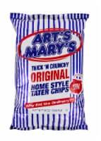 Art's & Mary's Thick N Crunchy Original Potato Chips - 8 oz
