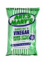 Art's & Mary's Classic Salt N Vinegar Potato Chips - 8 oz