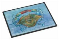 Carolines Treasures  BB8527JMAT Blue Crab Indoor or Outdoor Mat 24x36
