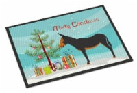 Catalan Donkey Christmas Indoor or Outdoor Mat 18x27 - 18Hx27W