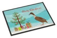 Dutch Hook Bill Duck Christmas Indoor or Outdoor Mat 18x27 - 18Hx27W