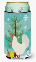 Leghorn Chicken Christmas Tall Boy Beverage Insulator Hugger - Tall Boy