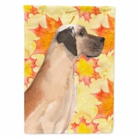 Carolines Treasures  BB9524GF Fawn Natural Great Dane Fall Flag Garden Size