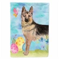 Carolines Treasures  BB9627GF German Shepherd Easter Flag Garden Size