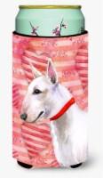 Bull Terrier Love Tall Boy Beverage Insulator Hugger - Tall Boy