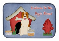 Dog House Collection Central Asian Shepherd Dog Dish Drying Mat