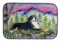 Carolines Treasures  SS8332DDM Bernese Mountain Dog Dish Drying Mat