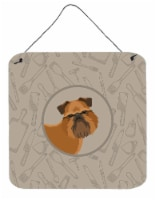Brussels Griffon In the Kitchen Wall or Door Hanging Prints - 6HX6W