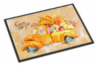 Fall Harvest Spinone Italiano Indoor or Outdoor Mat 24x36 - 24Hx36W