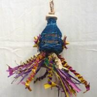 Happy Beaks Squiddy Bird Toy, Small