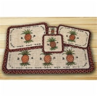 Wicker Weave Placemat, Pineapple