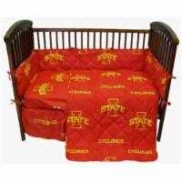 Iowa State Cyclones Baby Crib Fitted Sheet Pair - 1