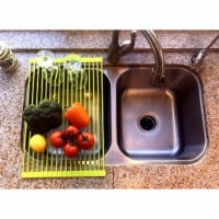 Roll-Up Drying Rack, Lime - 1