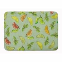 Lemons Limes & Orange Machine Washable Memory Foam Mat - 1