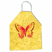 27 H x 31 W in. Butterfly on Yellow Apron
