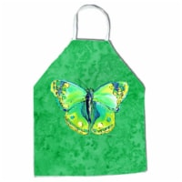 27 H x 31 W in. Butterfly Green on Green Apron