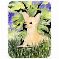 15 x 12 in. Chihuahua Glass Cutting Board - Large - 1