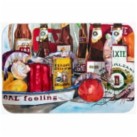 Verons And New Orleans Beers Glass Cutting Board, Large