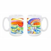 Dishwasher Safe Microwavable Ceramic Coffee Mug 15 oz. - 1