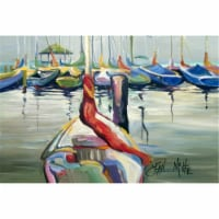 Lasalle Sailboats Fabric Placemat