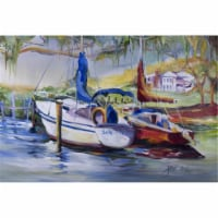 Lucky Dream Sailboat Fabric Placemat - 1